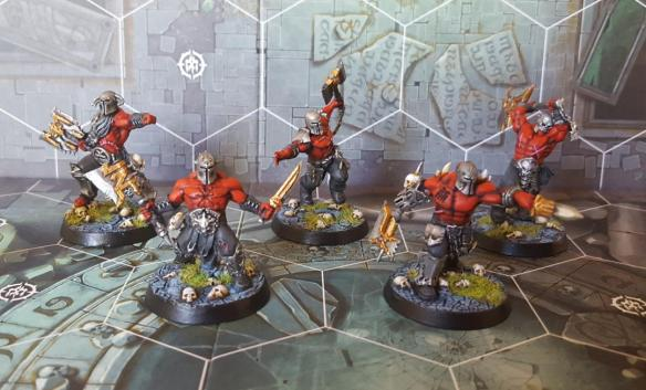 Shadespire Bloodreavers Painted