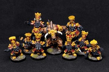 1 Bull Warriors team R